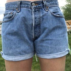 Levi's Vintage cutoff shorts